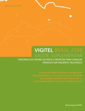 VIGITEL BRASIL 2008 - ANS