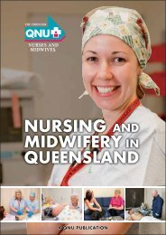 to download your copy of Nursing and midwifery in Queensland
