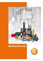 Muelles helicoidales, Muelles de poliuretano/elastómero, unidades ...