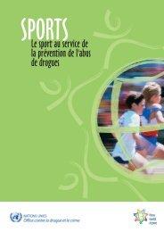 Le sport au service de la prévention de l'abus de drogues