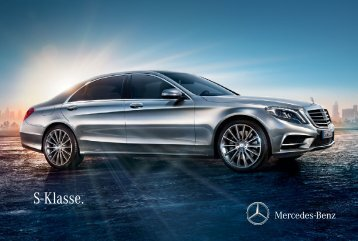 S-Klasse. - Mercedes-Benz Magyarország