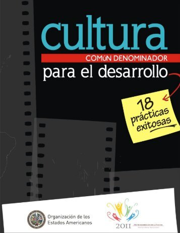 Cultura, común denominador para el desarrollo. 18 ... - mARTadero