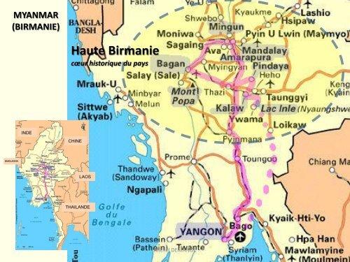 MYANMAR (BIRMANIE) - CARA IBM