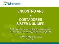 Apresentação 1 - Unimed do Brasil