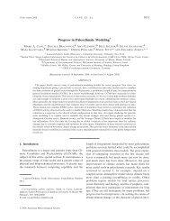 Progress in Paleoclimate Modeling* - IMAGe