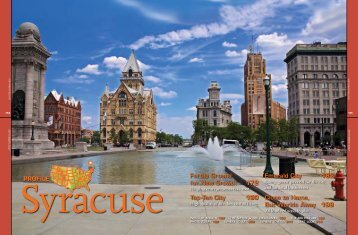 US Airways Magazine - City of Syracuse