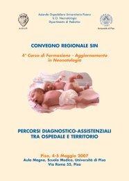 4° Corso di Formazione - Società Italiana di Neonatologia