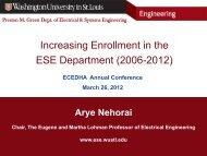 Arye Nehorai, Eugene and Martha Lohman Professor and ... - ecedha