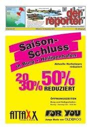 der reporter - Das Familienwochenblatt für Fehmarn 2014 KW 50