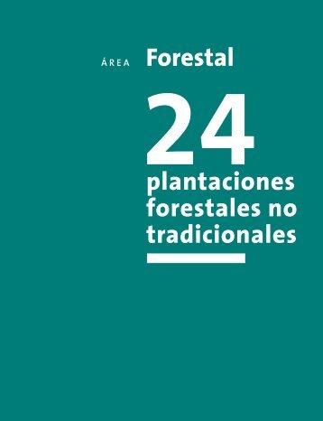 plantaciones forestales no tradicionales - Fia