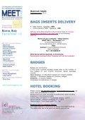 EXHIBITION MANUAL MEET2011b - MEET CONGRESS - Page 4