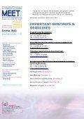 EXHIBITION MANUAL MEET2011b - MEET CONGRESS - Page 7