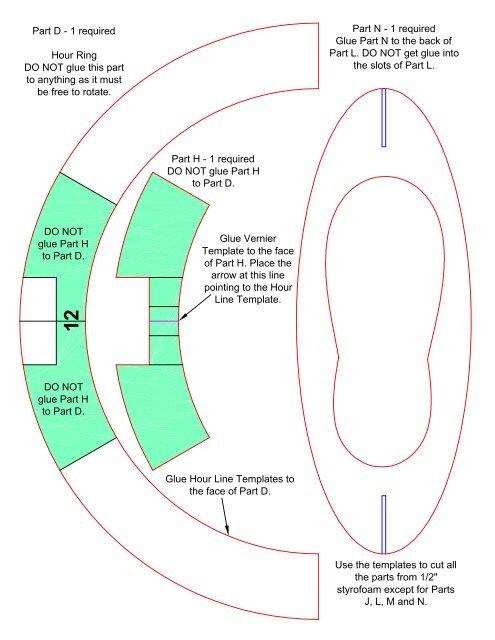 Standard Time Equatorial Ring Sundial Kit Mysundial