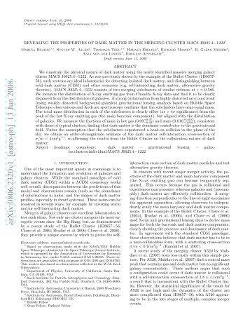 Science paper - ESA/Hubble