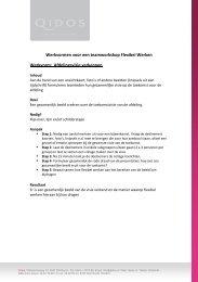Werkvormen teamworskhop Flexibel Werken kluwer - Facto Magazine