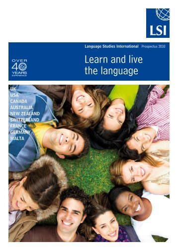 Learn and live the language