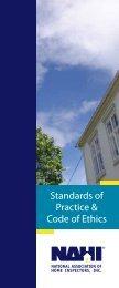 Standards of Practice & Code of Ethics - NAHI