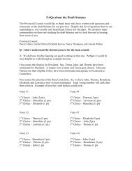 FAQs on the Provincial Statutes - Secular Carmelites of the Province ...