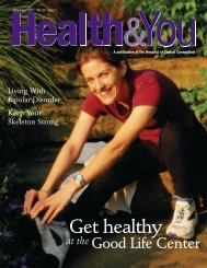 Get healthy - The Hospital of Central Connecticut