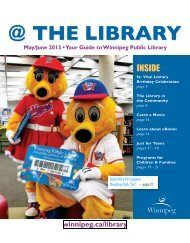 THE LIBRARY newsletter - The application you requested cannot be ...