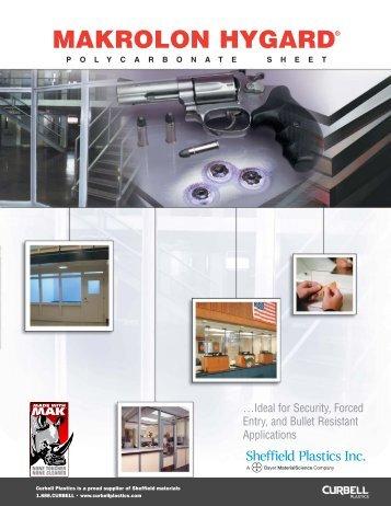 MAKROLON Hygard® Polycarbonate Sheet - Curbellplastics.com