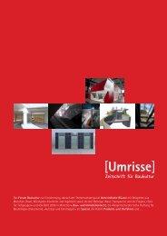06·2008 - Thema: Unterirdische Räume - Umrisse