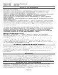 MATERIAL SAFETY DATA SHEET - Page 2