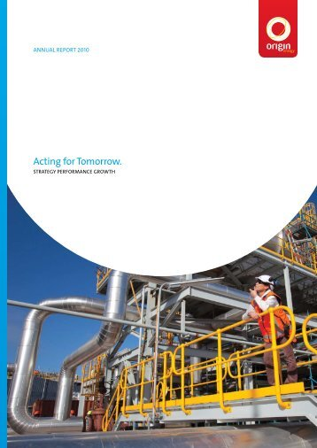 2010 Annual Report - Origin Energy