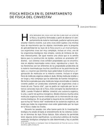 FISICA MEDICA EN EL CINVESTAV.pdf - Cosmofisica