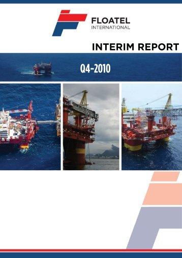 Q4 2010 - Floatel International