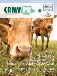 Ministérios divergem sobre Índice de Produtividade Rural - CRMV-PR