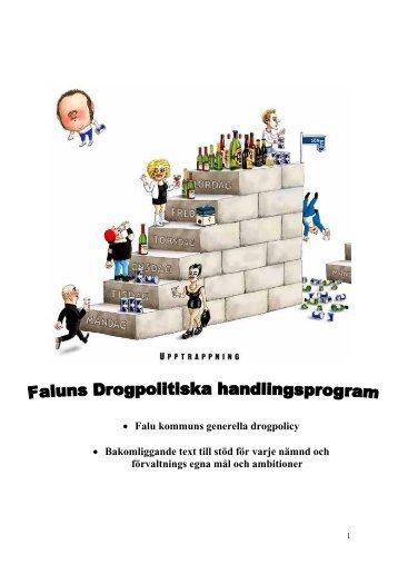 Drogpolitiskt program (pdf 0,1 MB) - Falu Kommun