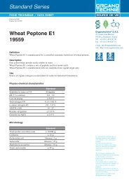 Standard Series Wheat Peptone E1 19559 - TekniScience.com