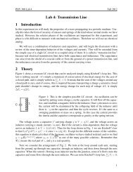 Transmission line - Ultracold Atomic Physics