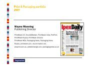 Wayne Manning Publishing Director - Ipex