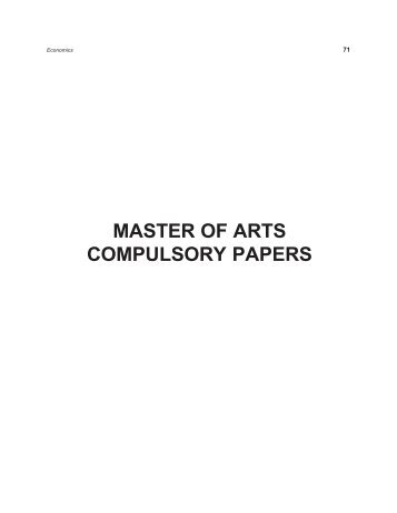 ugc compulsory papers - INFLIBNET Centre