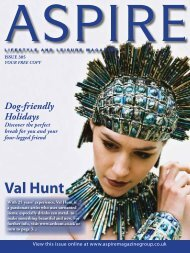 Val Hunt - Aspire Magazine