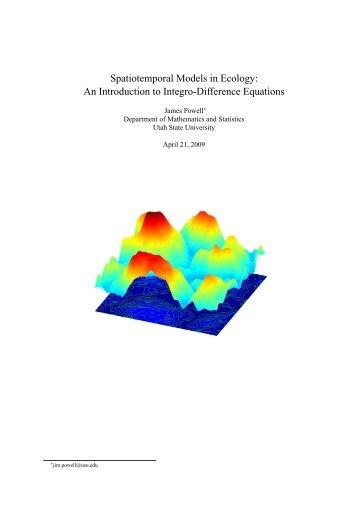 Download - Department of Mathematics & Statistics - Utah State ...