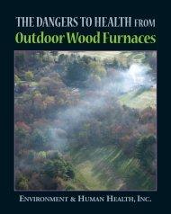 OUtdoor Wood Furnaces - Environment & Human Health, Inc.