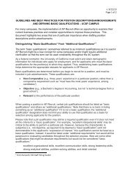 v. 9/12/13 Page 1 of 2 GUIDELINES AND BEST PRACTICES FOR ...