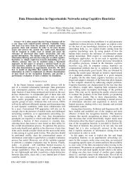 Data Dissemination in Opportunistic Networks using ... - IEEE Xplore