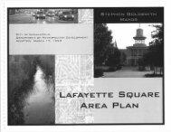 Lafayette Square Area Plan - Rangwala Associates