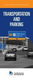 TRANSPORTATION AND - Toronto Pearson International Airport