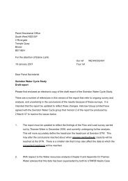 Covering Letter 18th January 2007 - PDF format