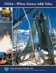 NOAA Highlights - NOAA Office of Public and Constituent Affairs