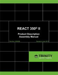 REACT 350® II - Energy Absorption Systems