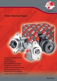 Power Steering Pumps Pompes de direction assistée ... - Meritor