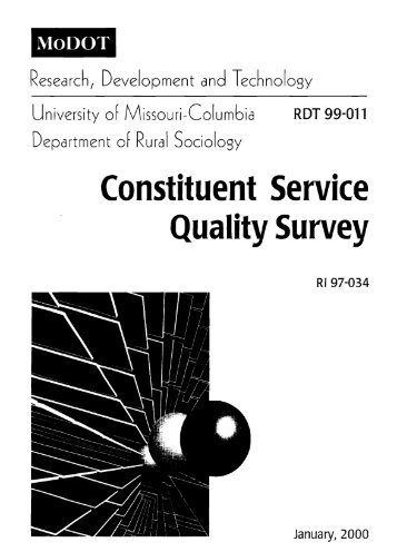 Constituent Services Quality Survey Report - FTP Directory Listing