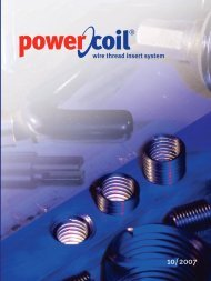 wire thread insert system - PowerCoil
