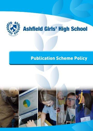 Publication Scheme Policy PDF - Ashfield Girls' High School